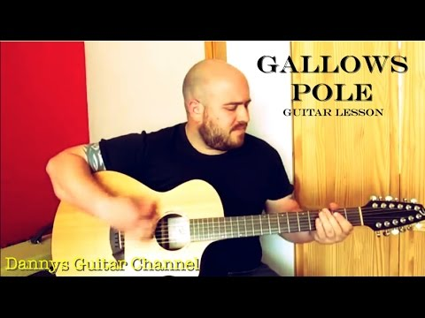 Gallows Pole Led Zeppelin Version Guitar Lesson Breedlove