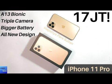 HAPENYA SULTAN! | IPhone 11 Pro Gold Unboxing Dan Hands On