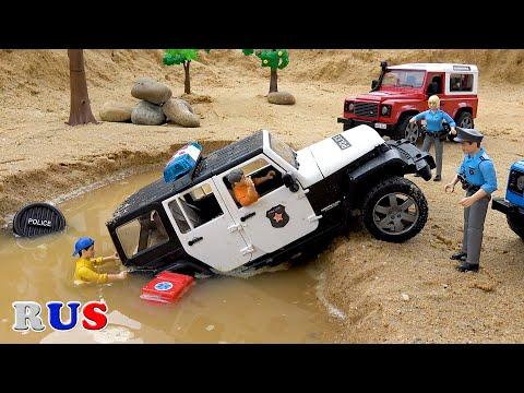 Машина упала в яму мультфильм
