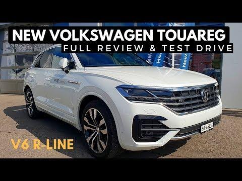 New VW Touareg TDI R Line Test Drive Full Review 2019