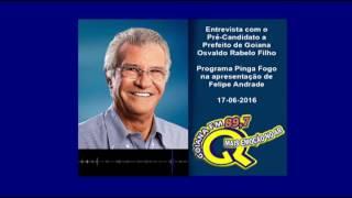 entrevista com o pre candidato a prefeito de goiana osvaldinho programa pinga fogo 89 7mhz 17 06 2