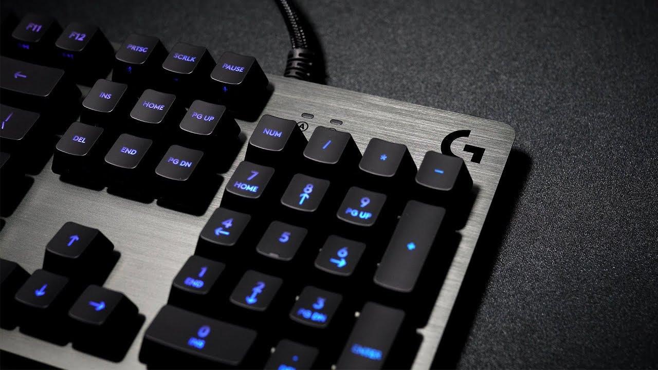 0fbefb4ddbf Logitech G513 Carbon Keyboard Review Romer G Best RGB Keyboard - YouTube