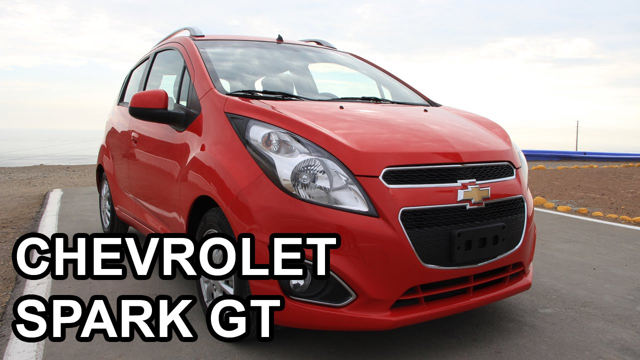Chevrolet Spark Gt 2015 Video En Full Hd Todoautos Pe Youtube