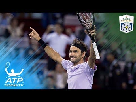 Roger Federer 'human highlight reel' vs Rafa Nadal | Shanghai 2017 Final