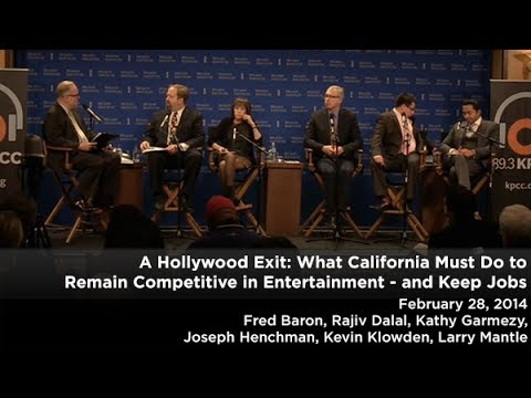 A Hollywood Exit: What California Must Do to Remain Competitive in Entertainment - and Keep Jobs