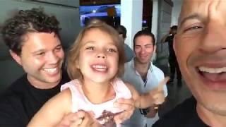 Vin Diesel With His Niece !