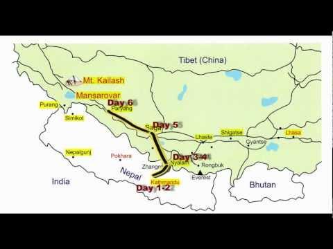 Kailash Mansarovar Nepal Route