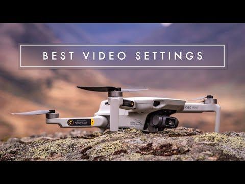 MAVIC MINI // USE THESE SETTINGS FOR PRO VIDEO FOOTAGE!