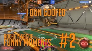 Scored My Own Goal :( - Rocket League Funny Moment #2