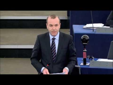 Manfred Weber in der Plenardebatte zur Vorbereitung des EU-Gipfels, 14.12.2016