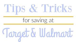 Tip for Saving at Walmart & Target (+ Live Q&A)