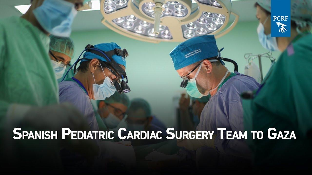 Spanish Pediatric Cardiac Surgery Team Arrives In Gaza