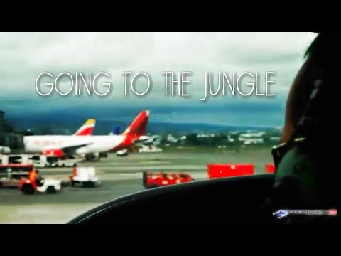 Going To The Jungle ! Flight To Costa Rica [ Air Canada Rouge  , FlySansa Review ]