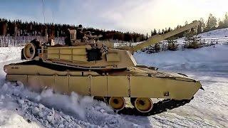 usmc tanks vs norway s tanks on ice