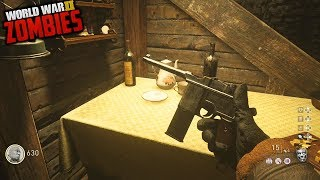 THE SMALLEST ZOMBIES MAP EVER?!?! (Call of Duty WW2 Zombies Groesten Haus)