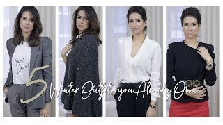 Autumn/winter Outfits You Already Own | 5 Fall Winter 17/18 Trends | Jasmina Pur