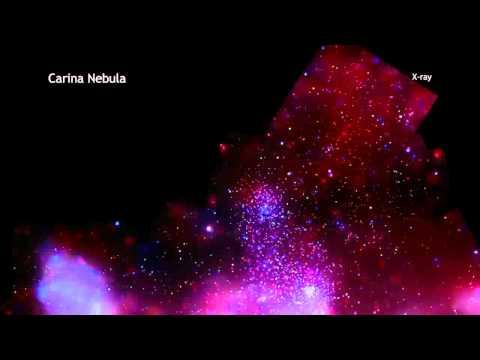 Carina Nebula in 60 Seconds (High Definition)