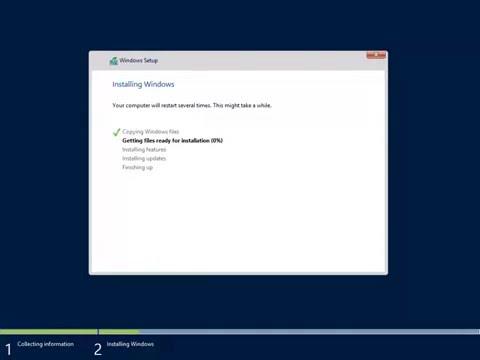 How to Install Windows Server 2012 R2 Datacenter