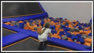 Trampoline Park with the kids