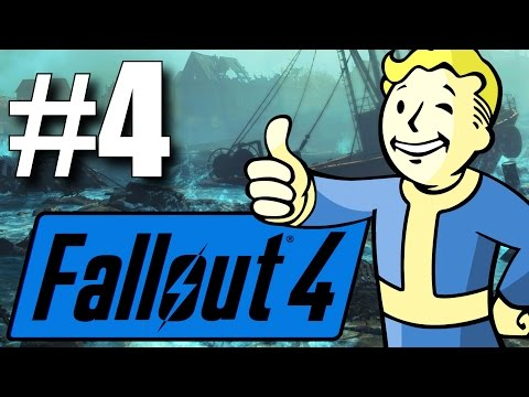 Fallout 4 Far Harbor DLC - Part 4 - Exploring the Island! (New Survival Mode)