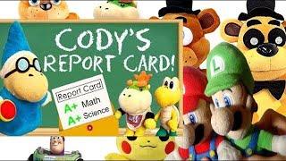 SML Movie: Cody's Report Card! Mario and Luigi Reaction(Freddy,FredGFreddy,Pikachu,Jr,Buzzlightyear)