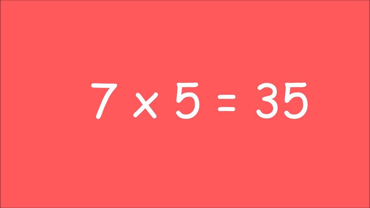 Table De Multiplication De 7 Exercices Youtube