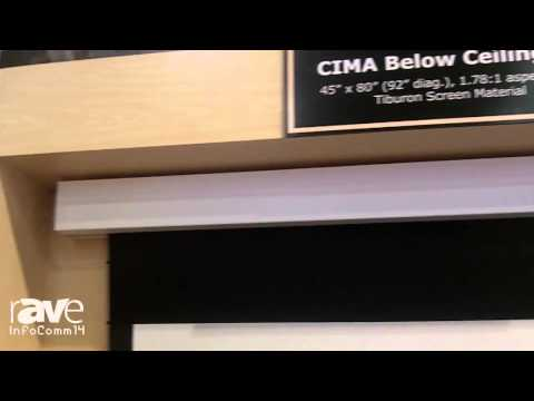 InfoComm 2014: Stewart Filmscreen Showcases CIMA Value Projection Screen