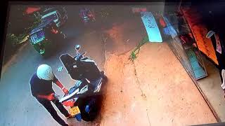 Kandane bike accident