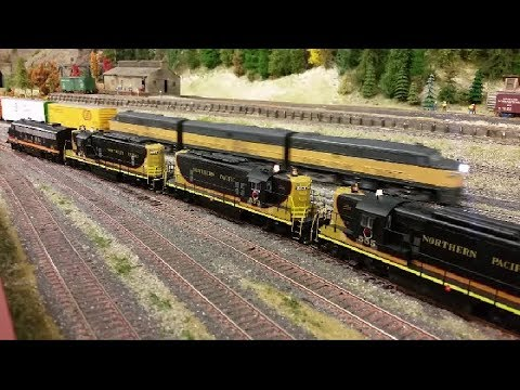 Trains, Trains, and More Trains