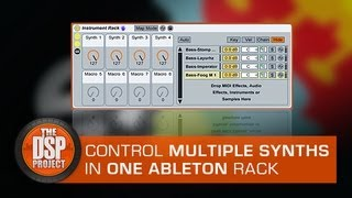 Ableton Live - Using Multiple Instruments In A Single MIDI Channel - DSP Tutorial