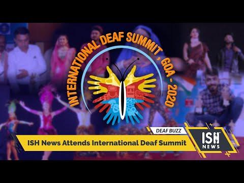ISH News Attends International Deaf Summit