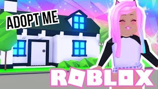 💙I Bought The FAMILY HOUSE In ADOPT ME - Roblox Roleplay