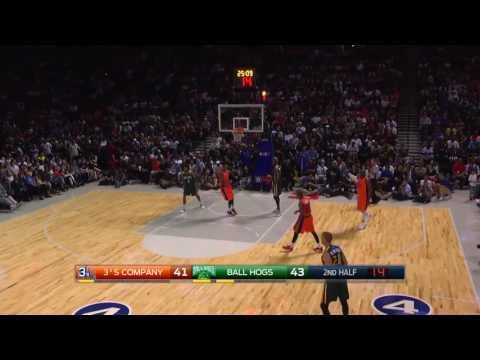 Allen Iverson 's 3's Company vs Ball Hogs *BIG3 HIGHLIGHTS
