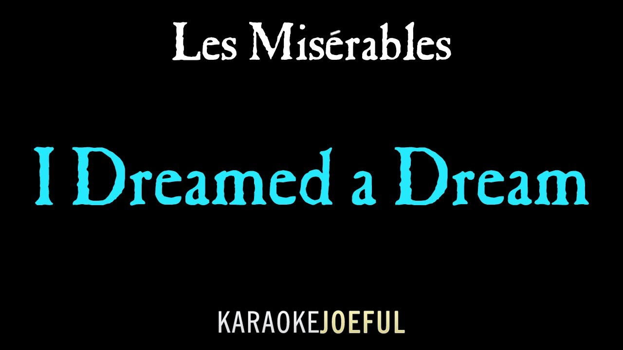i dreamed a dream mp3 download