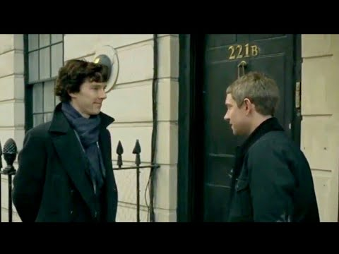 Sherlock Shows John His Apartment | A Study In Pink