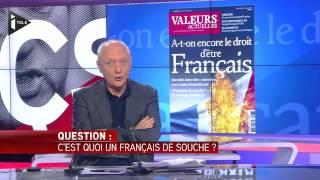 """Zemmour défend la """"supériorité symbolique du Français de souche"""""""