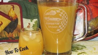 HOW TO MAKE JAMAICAN GINGER JUICE RECIPE 2016