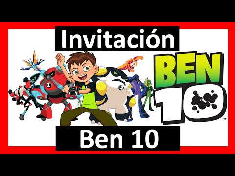 Video Invitación Ben10 Whatsapp Digital