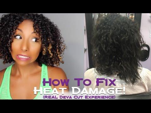 How To Fix Heat Damaged Curls w/ a DEVA CUT! | BiancaReneeToday