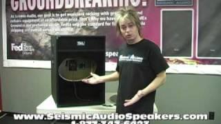 Seismic Audio Speakers Empty 18 Subwoofer Cabinet