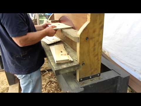 Making Wooden Shingles With Bandsaw Mill For Treehouse Doovi