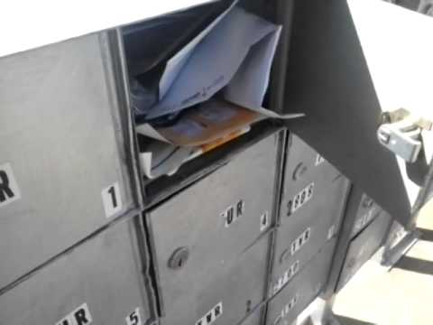 Breaking Into A Mailbox Is Easy Youtube