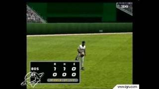 High Heat Major League Baseball 2003 PlayStation 2 Gameplay