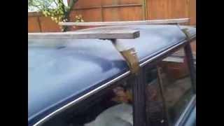 видео Багажник на крышу ВАЗ 2104 своими руками