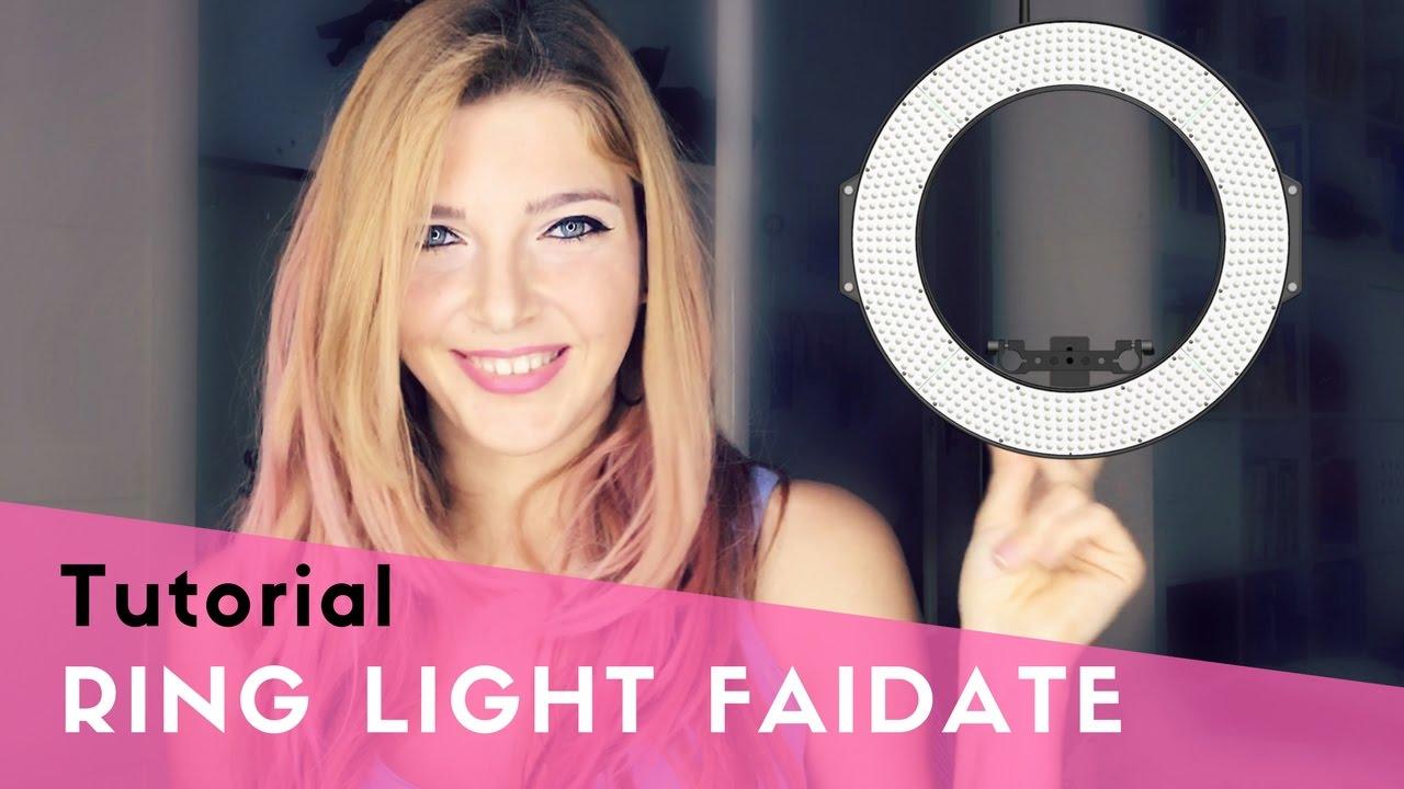 Luci Fai Da Te tutorial ring light per meno di 20€ - illuminazione professionale per foto  e video faidate