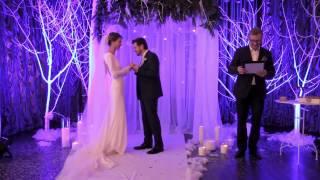 Красивая свадьба Яны и Алексея в ресторане SunRise