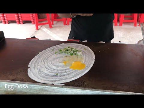 Egg Dosa with Masala / bangladeshi street food / Nams Vlog