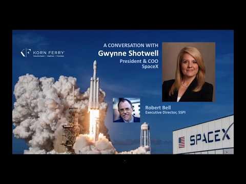 SSPI Making Leaders Interview: Gwynne Shotwell