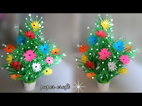 home decor craft ideas | paper flowers kids | easy craft ideas for the home