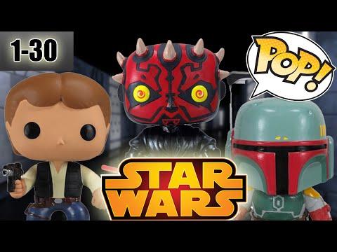 Funko Pop Star Wars Series (1-30)